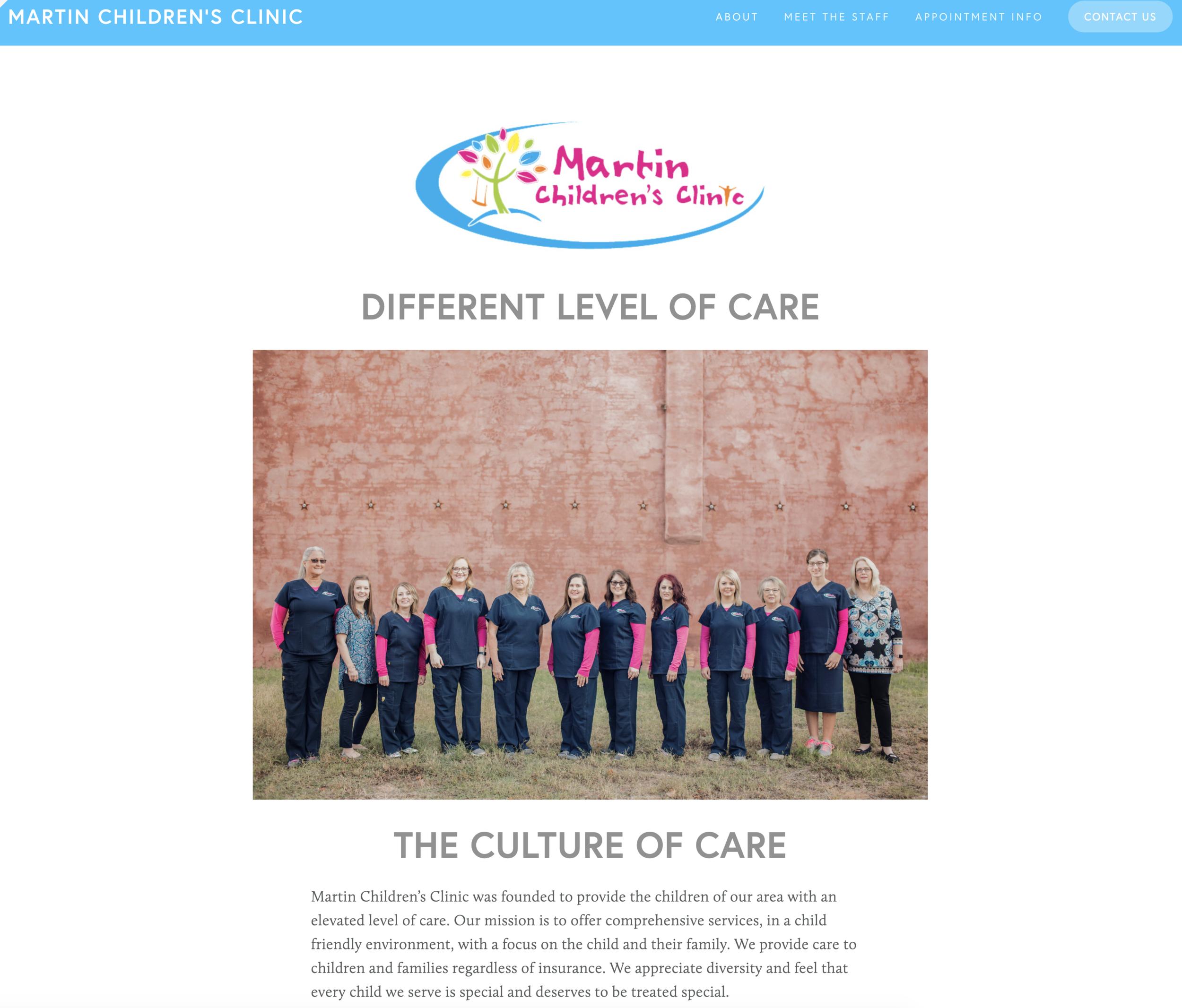 www.martinchildrensclinic.com