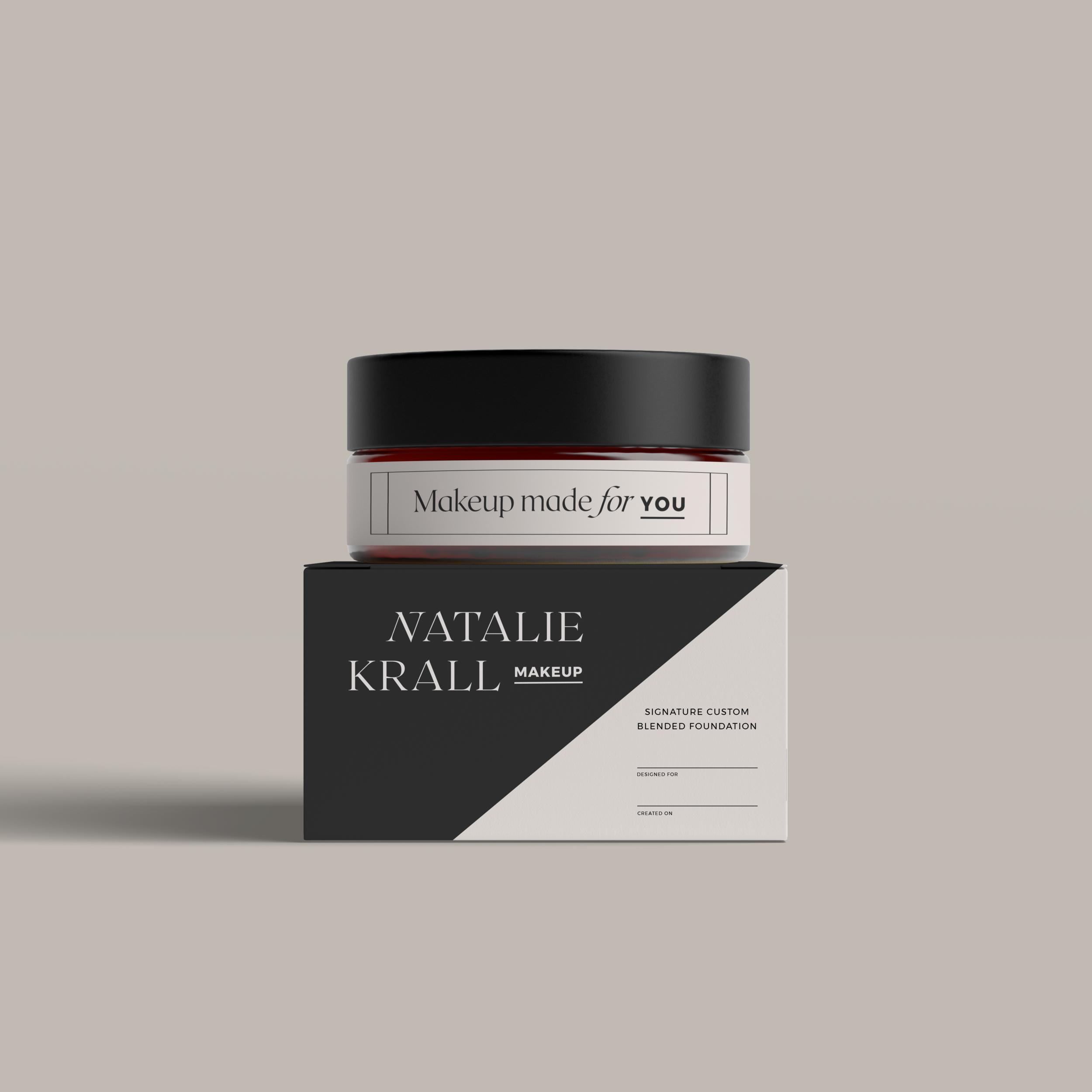 Natalie Krall Makeup   Branding, Print