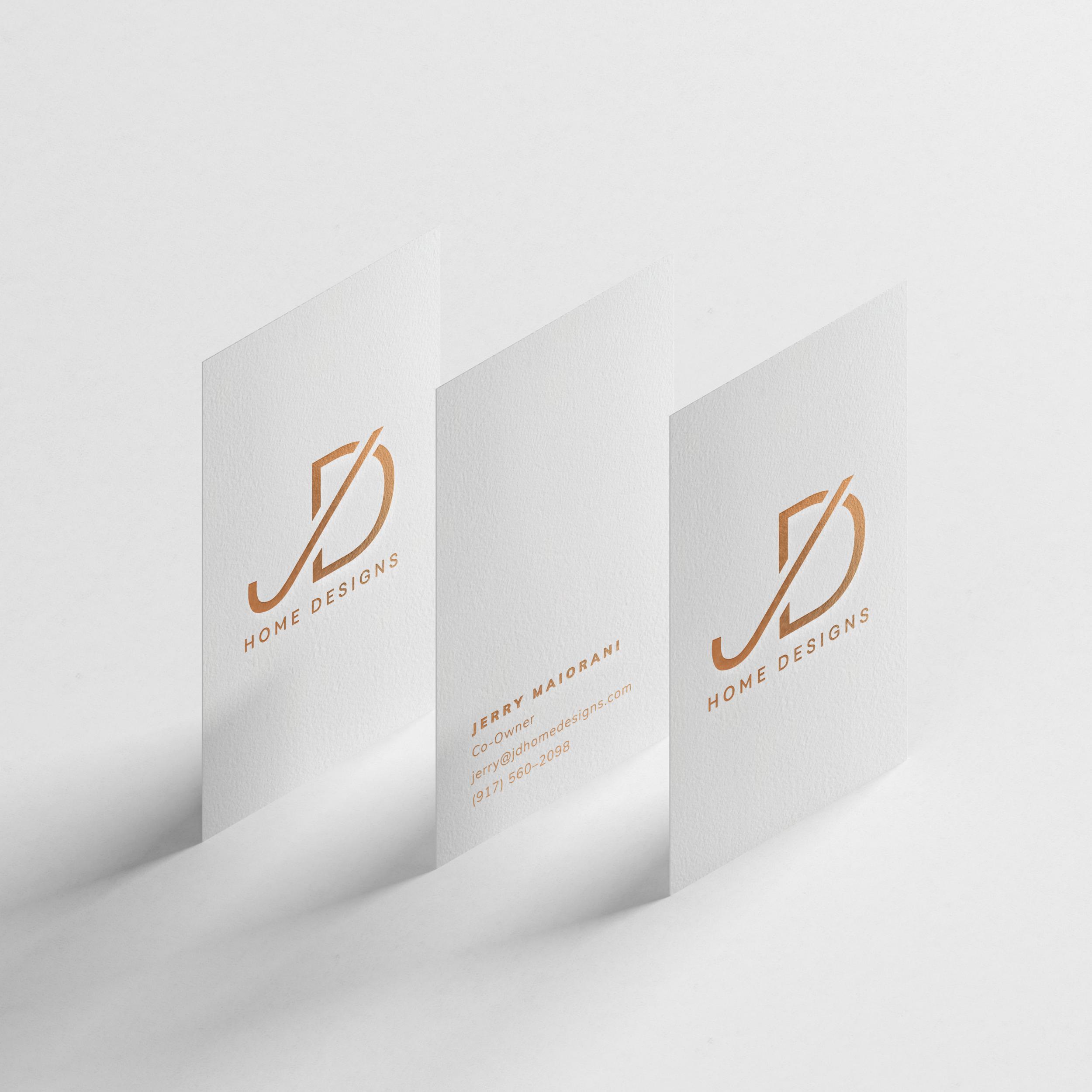 JD Home Design   Branding, Web, Print