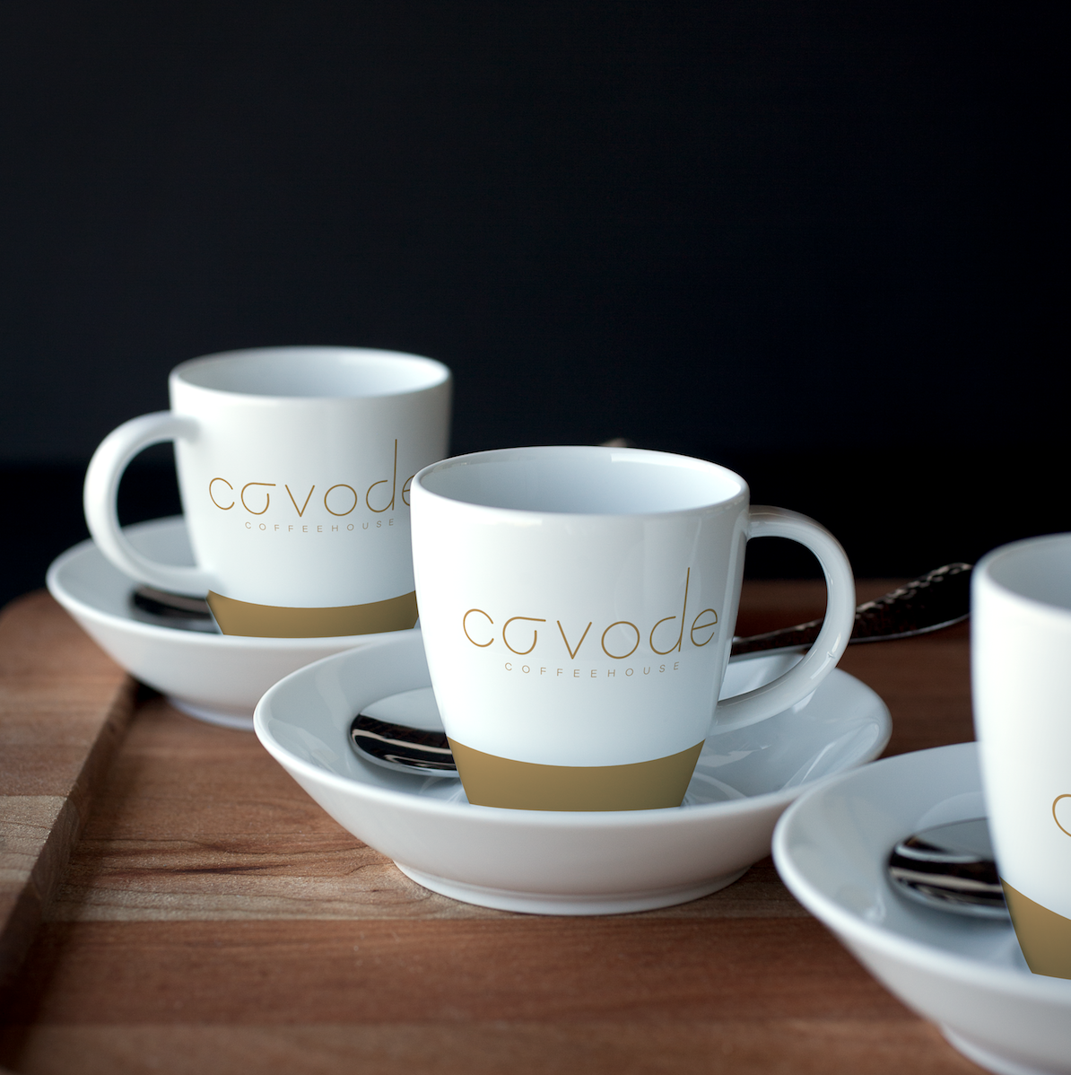 Cavode Coffeehouse   Conceptual brand, packaging, print