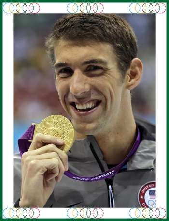Michael Phelps has genetically superior genes for swimming, but if you look up his or other Olympian athletes training regiments you will understand it was not just their genes that got them to the podium.