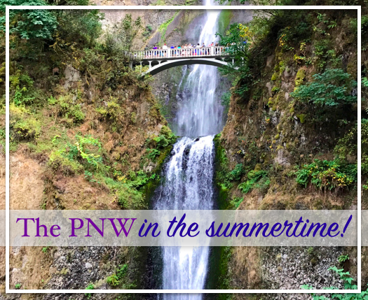 pnw in the summertime