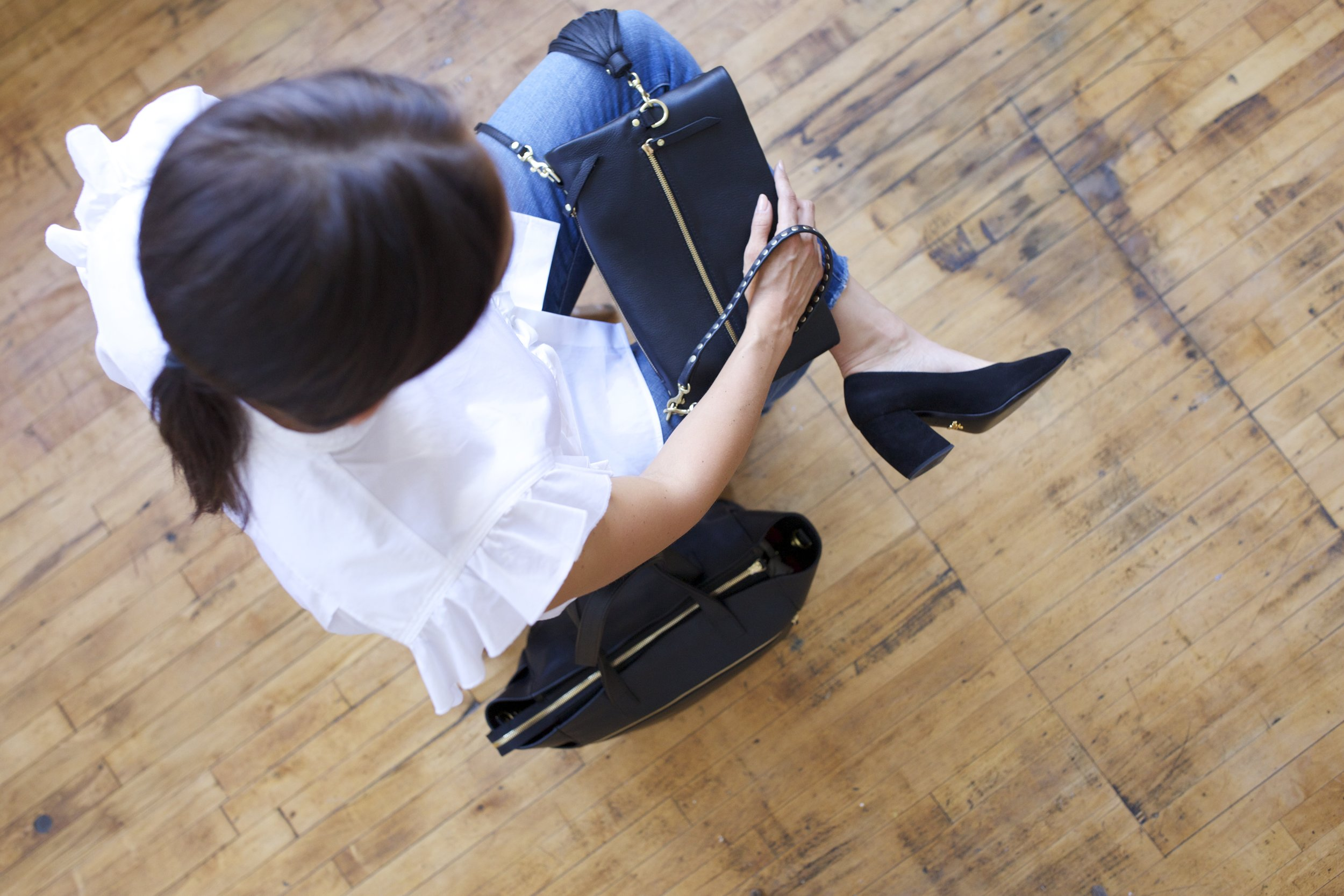 TAH 'tote a heel' Everyday Clutch and Work Traveler