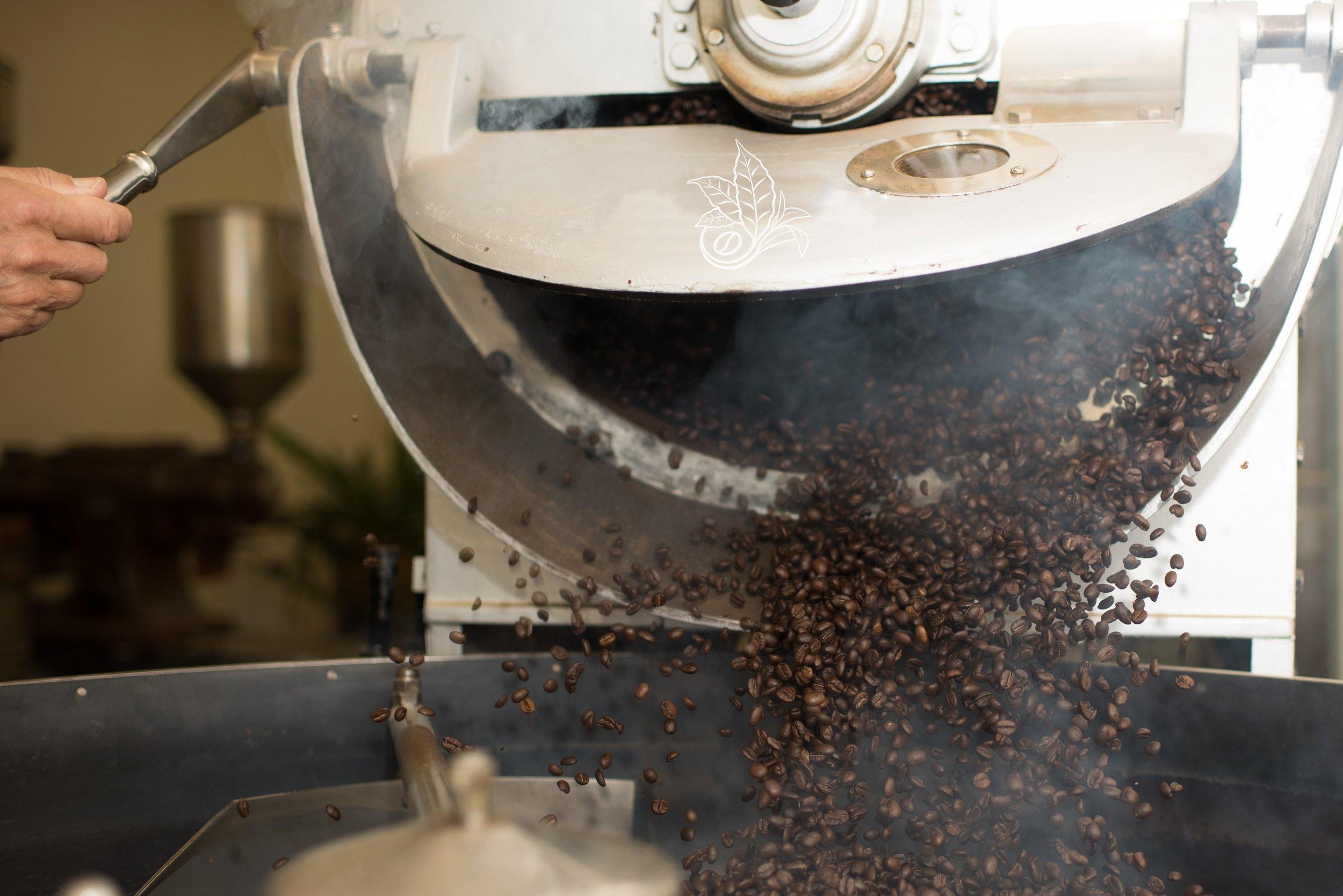 Kona Coffee Roasted