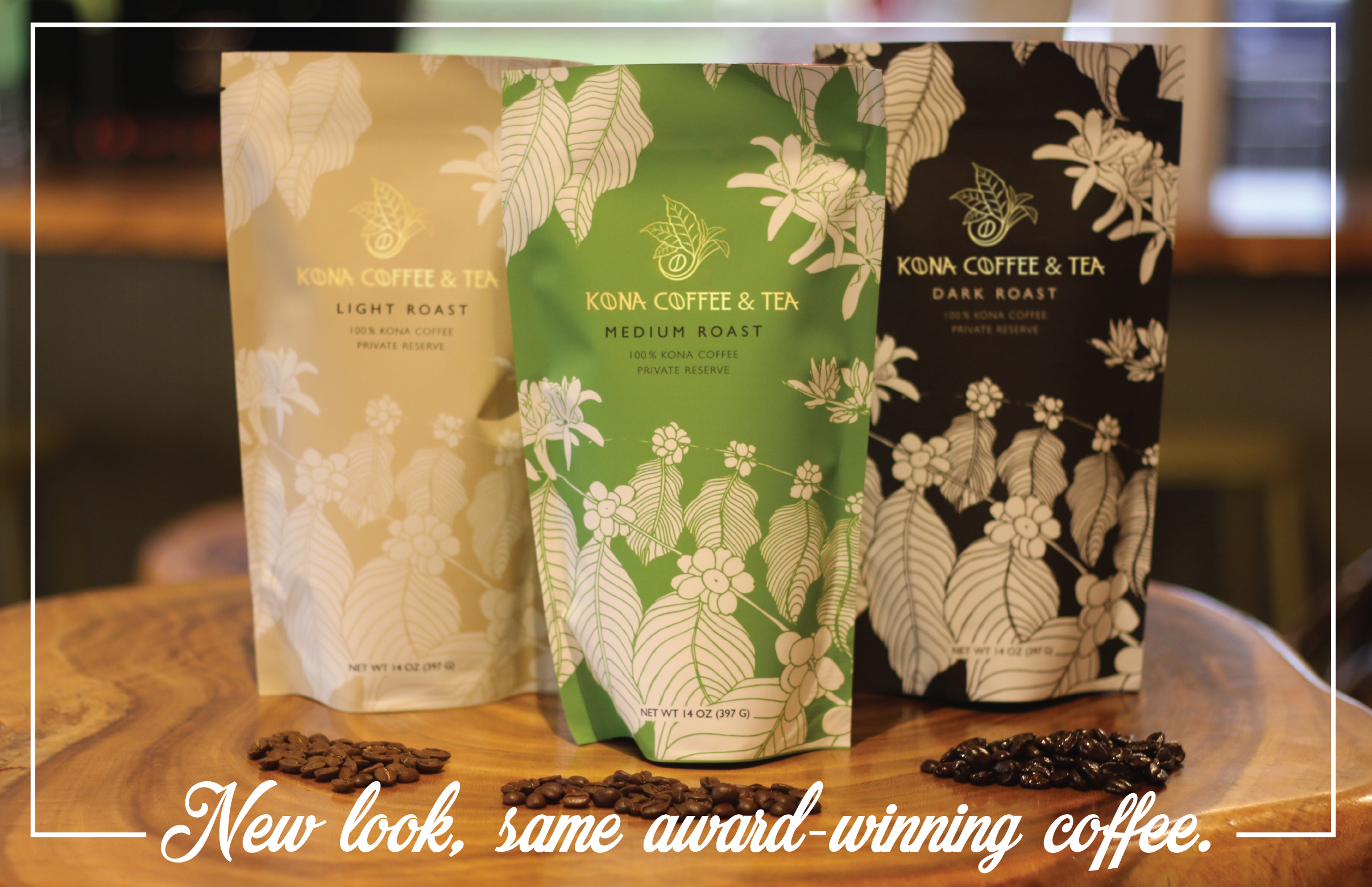 New Kona Coffee