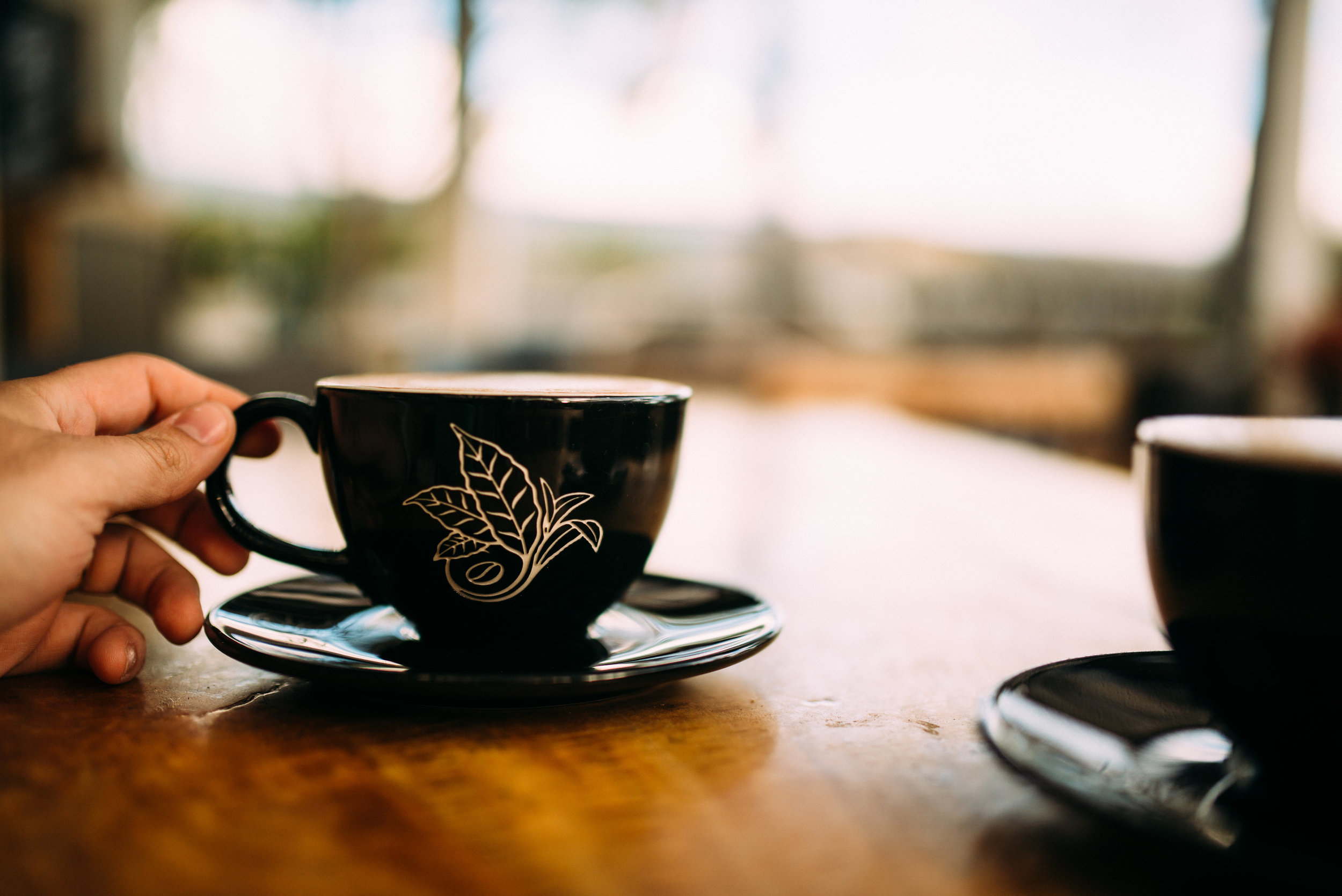 Learning and sharing ideas over coffee and tea PHOTO: Blake Wisz