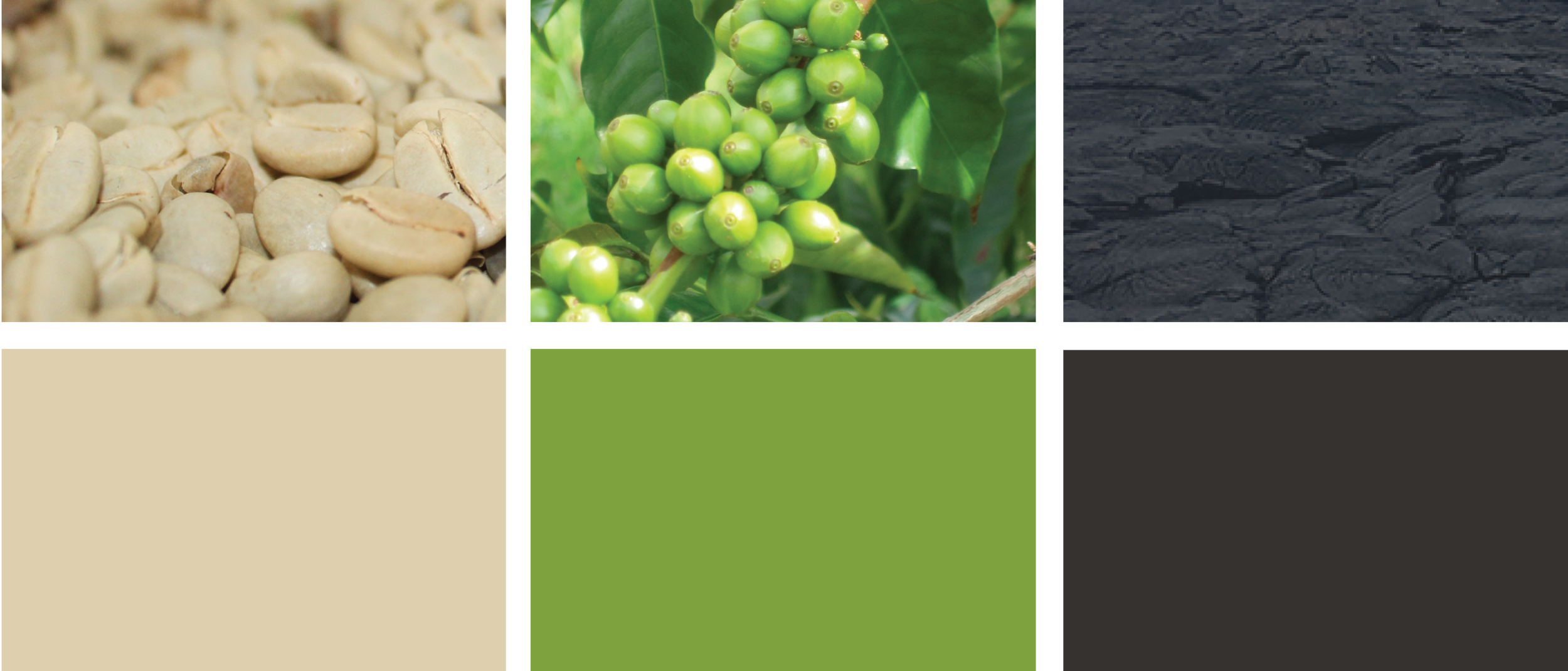 The colors of the new bags were inspired by the Kona Coffee & Tea farm and mill.