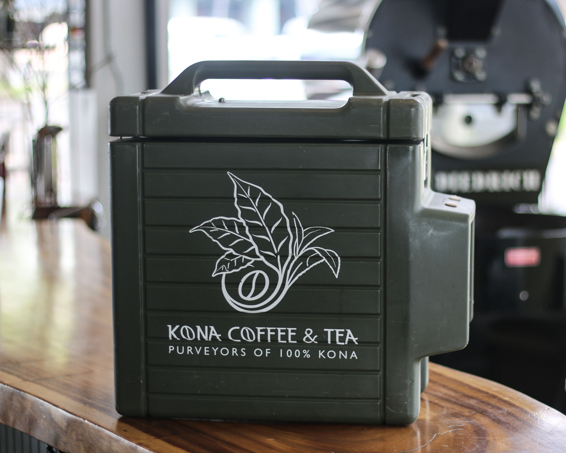 Bulk brewed coffee Kona