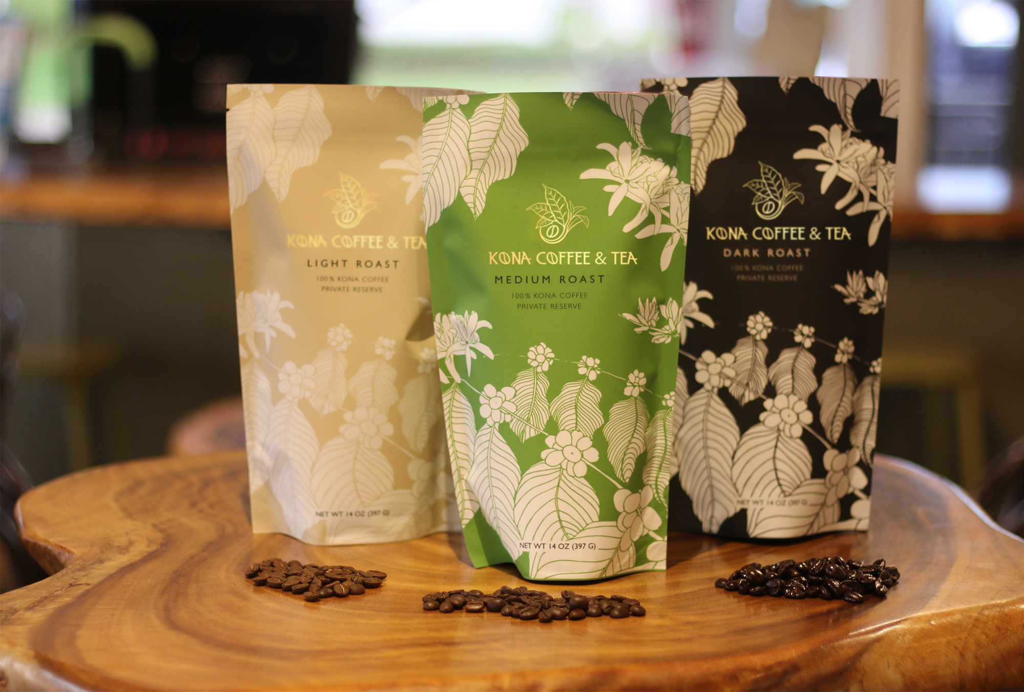 Kona Coffee and Tea 100% Kona Coffee