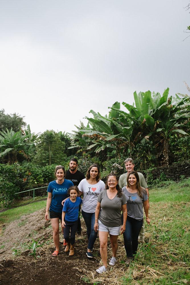 From left to right: Kirstina, Danny, Zadie, Zulay, Jan, Dan, & Malia