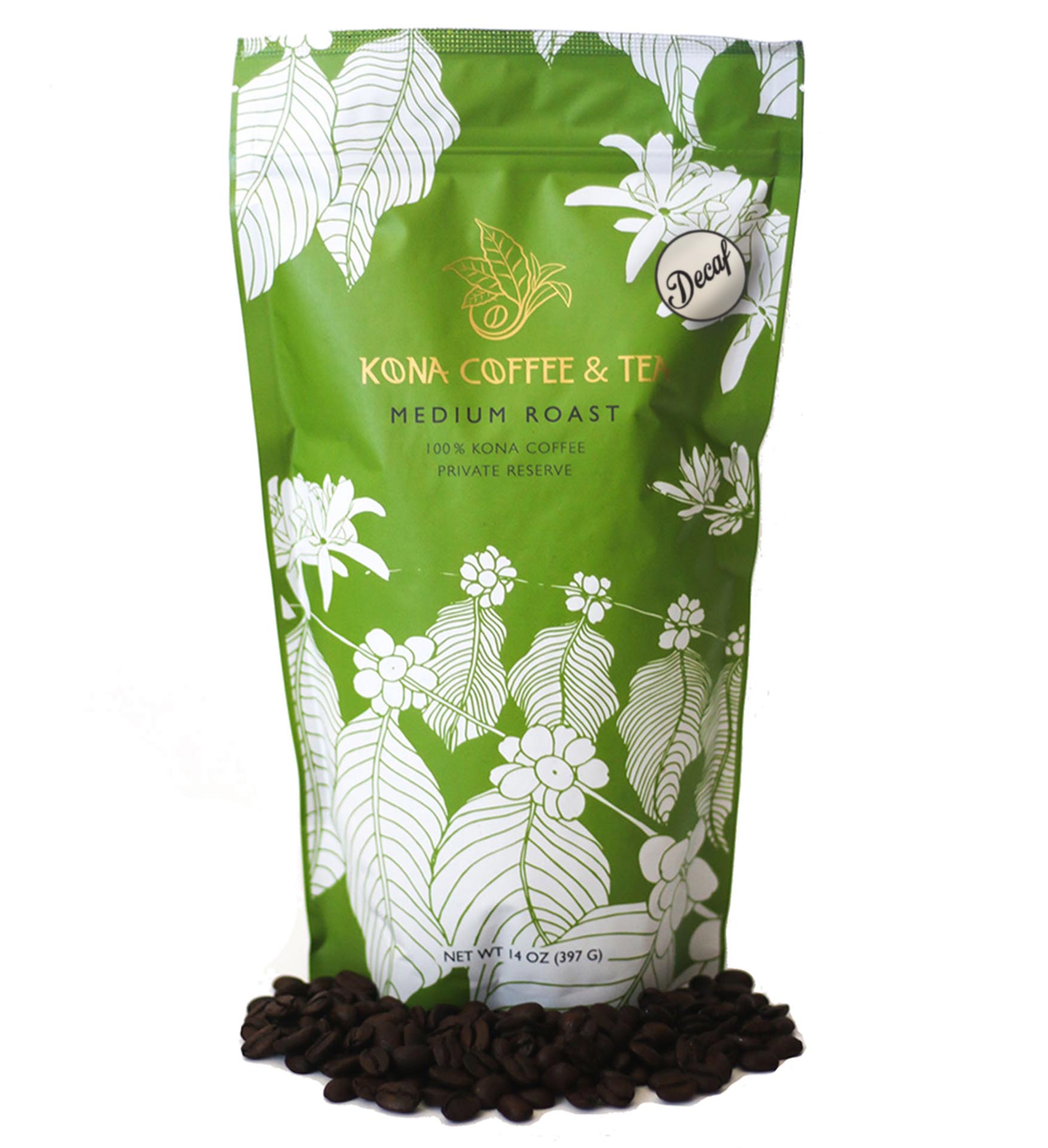 Decaf 100% Kona Coffee