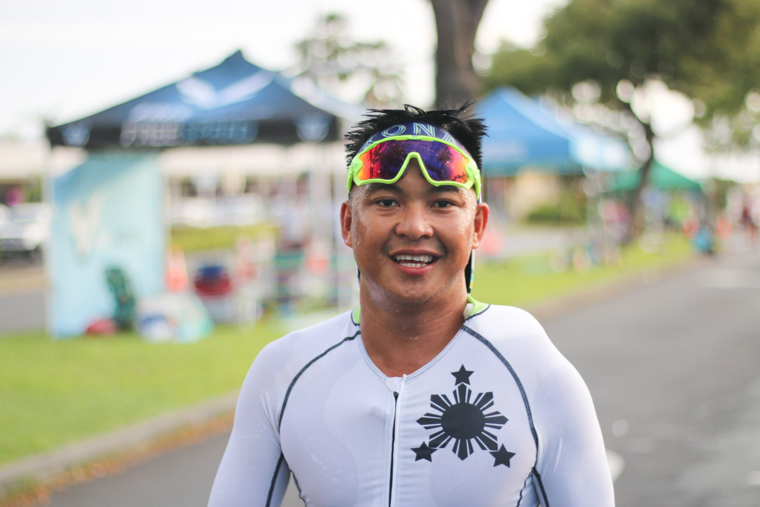 Cisco on his run during 2019 Ironman Championship.jpg