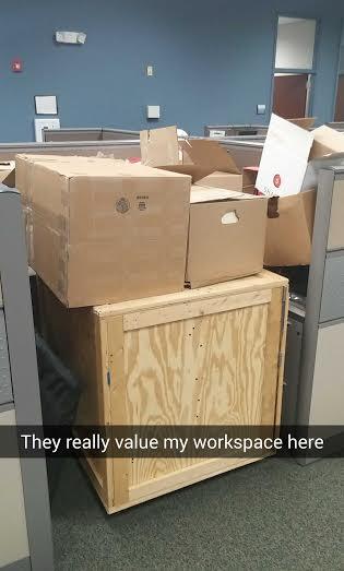 A real snapchat that I sent while at work.