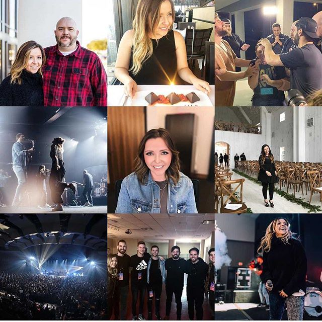 """2018 you were a sweet one: celebrated 10 years of marriage, turned the big 3 0 and took the worlds most EPIC road trip with some dear friends, took on a new position (but really just became part of a really special family), recorded some new music with my Gateway fambam, traveled to some new places, and to top it all off, I GOT BAPTIZED! I can't help but think about all the years that Chad and I had to stand and how many years went by when it seemed like God was silent. This year was the fruit! I experienced Him in such a new way! And Holy Spirit, my goodness is He amazing!!! God is so faithful! His timing is impeccable! And for those of you who haven't seen """"the promise"""", keep your eyes on Jesus face. Let Him romance you and lead you there! Hello 2019 👋!"""