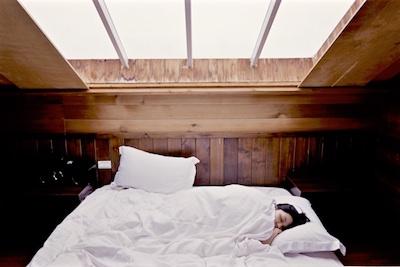 sleeping, bed, girl in bed