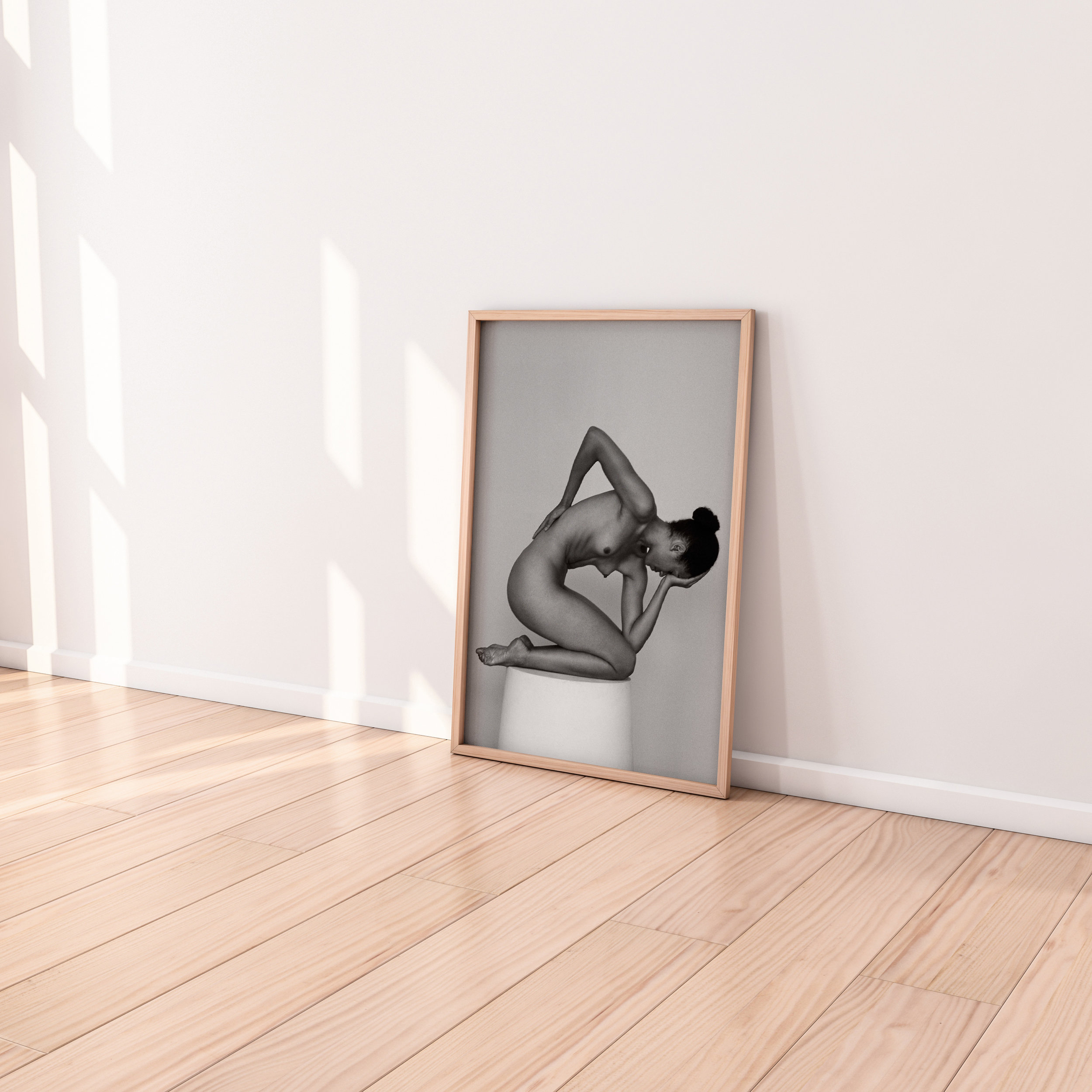 100% real wood frame with a matte enamel finish and are protected by shatter-proof plexi glass with UV coating.