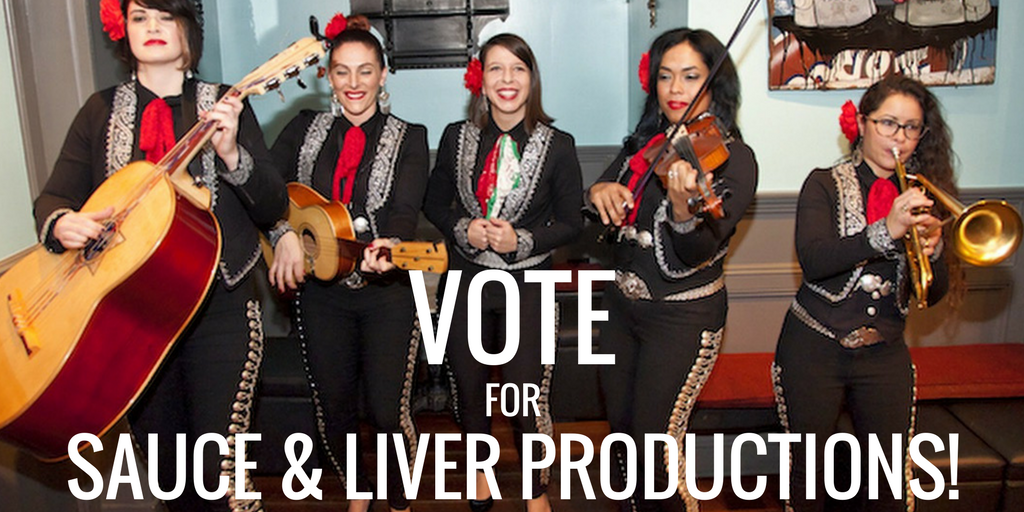 VOTE for Sauce & Liver Productions, LLC to help continue making more episodes of  Bare Feet with Mickela Mallozzi