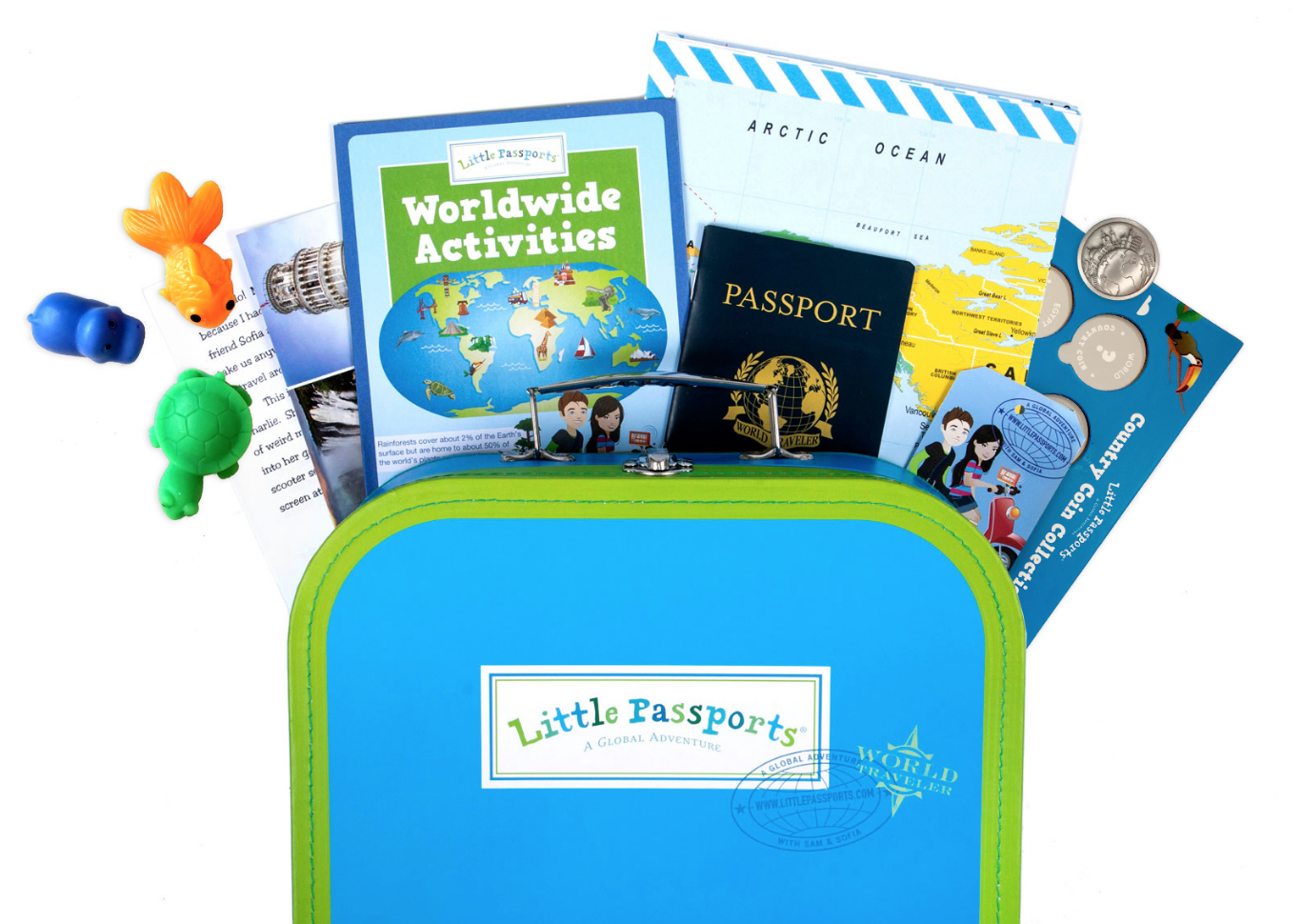 FOR THE LITTLE ONES - Little Passports Subcription