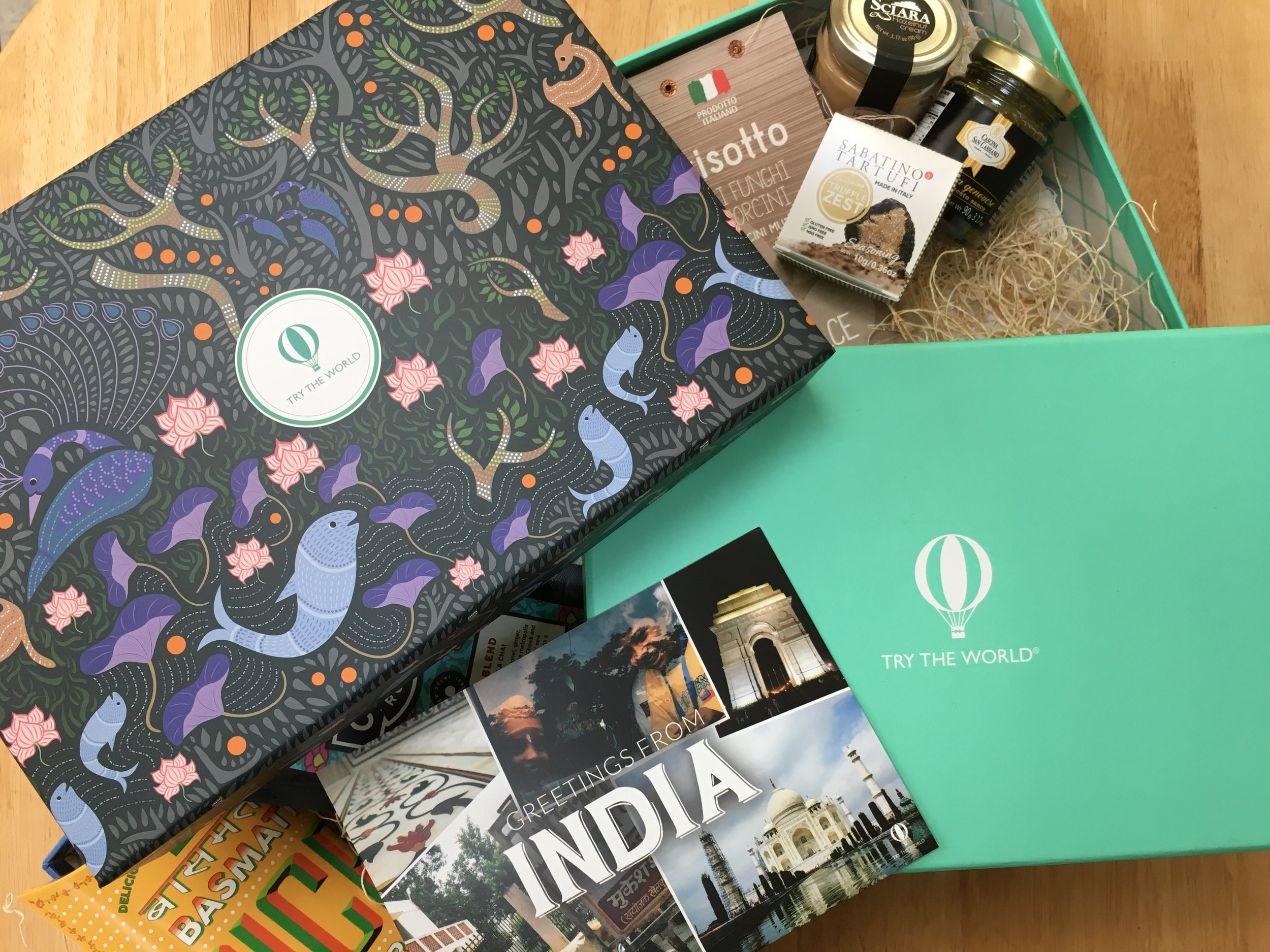FOR YOUR TASTEBUDS - Try The World (FREE BOX OFFER!)