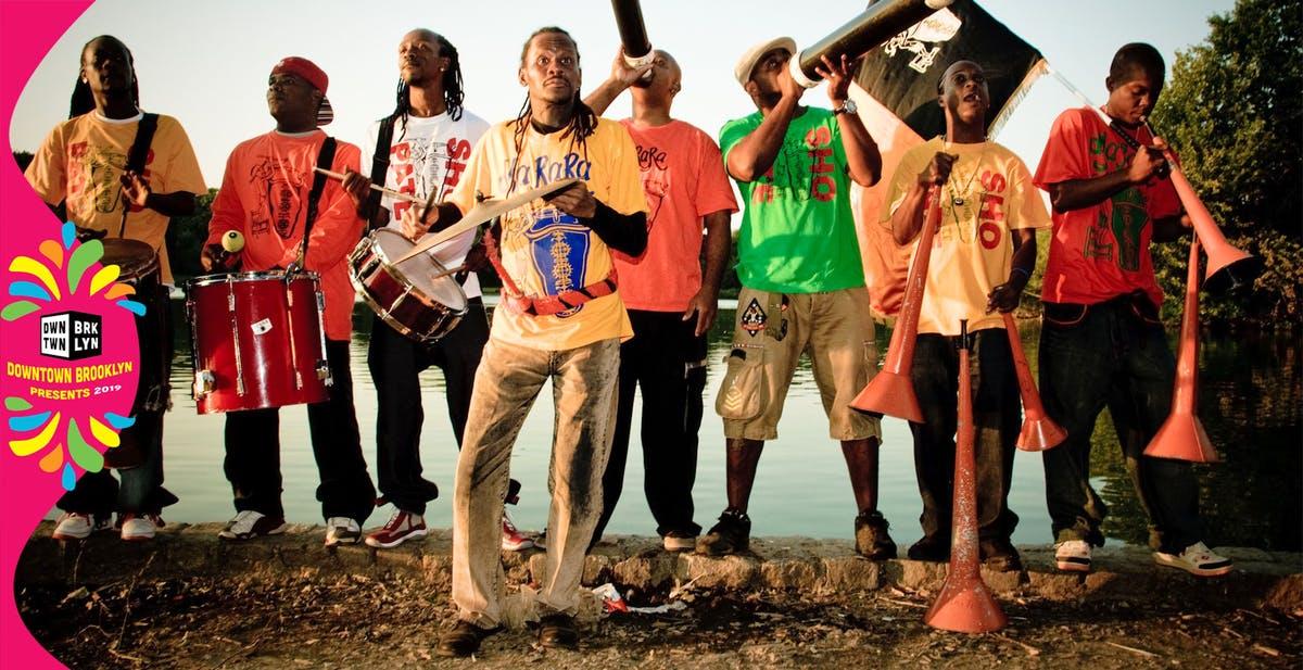 June 5 - Haitian Dance & Music featuring Julio Jean & DjRARA at Albee Square