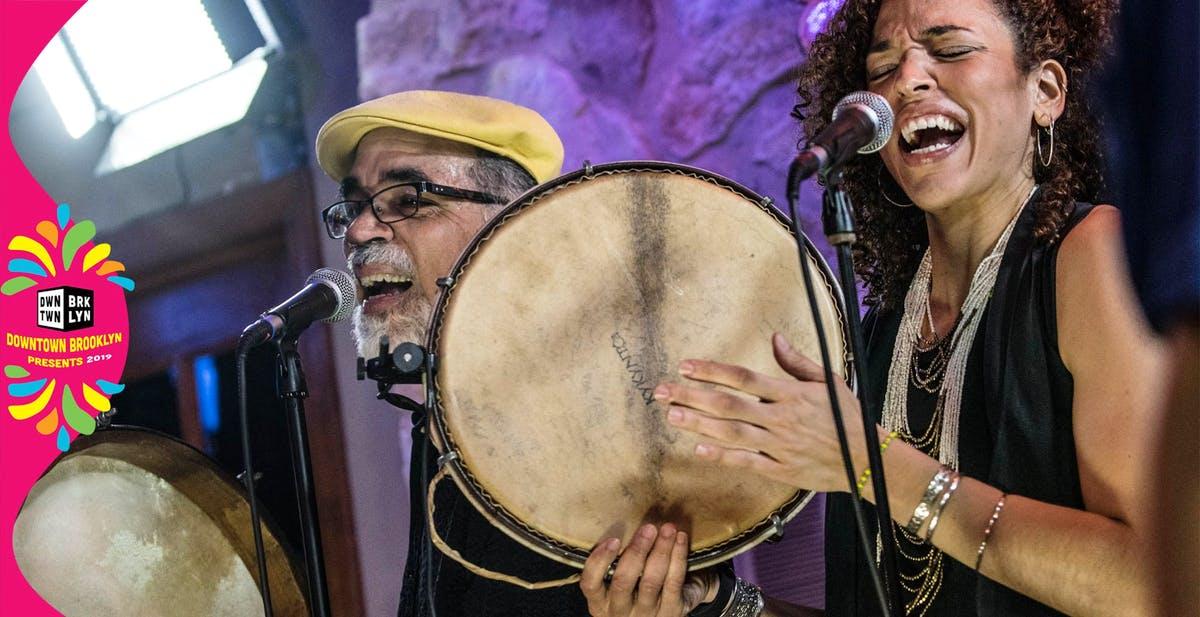 June 12 - Puerto Rican Bomba & Plena featuring Los Pleneros de 21 at Albee Square