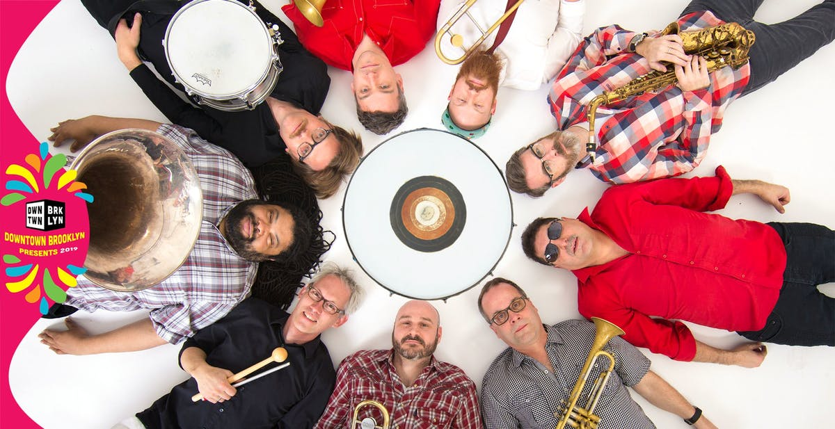 June 26 - Balkan Brass Music featuring Slavic Soul Party at The Plaza at 300 Ashland