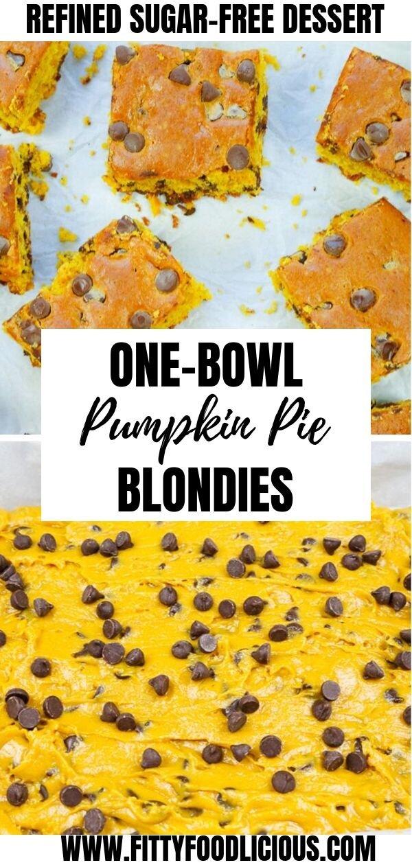 October, Fall, Sugar-free, Refined Sugar-free, cake, cookies, blondies, pumpkin pie, pumpkin