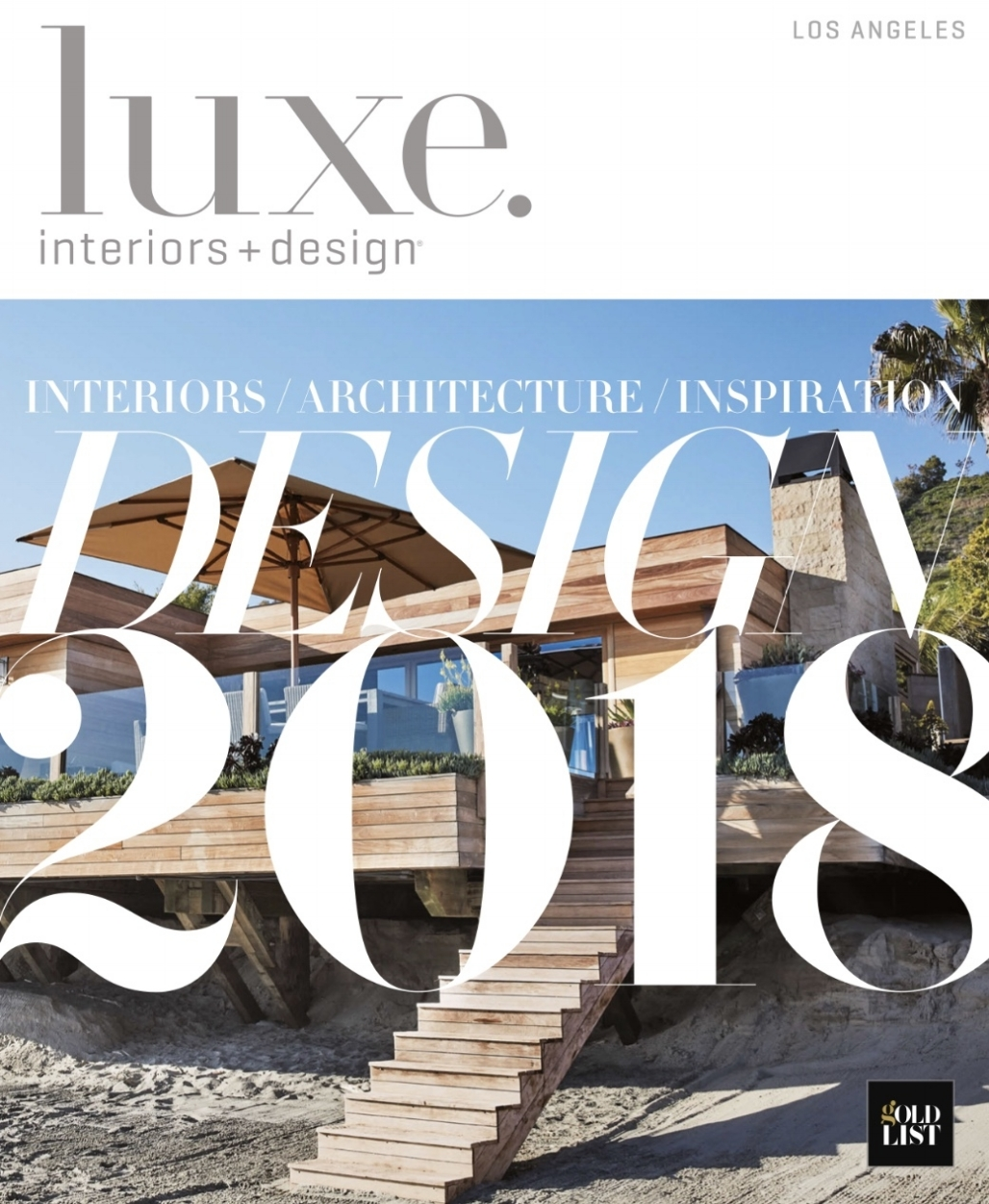 Luxe Gold List 2018   We are proud to make Luxe's magazines Gold List 2018