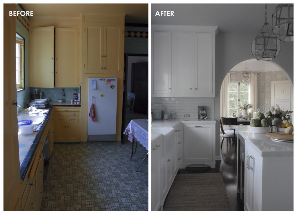 003 BEFORE & AFTER - KITCHEN 1