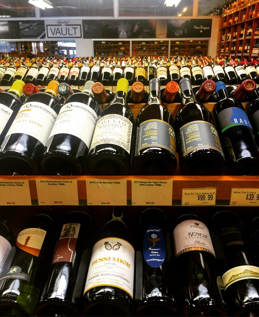 Next door to the cheese box is a great selection of wine for your pizza party, I highly suggest popping in here.