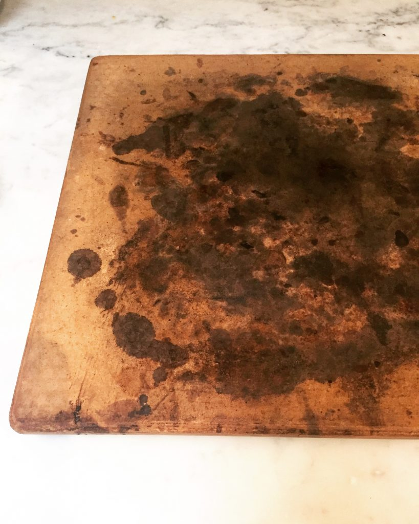 Most important tool to have is a pizza stone you can find yours here at  Amazon . The key is to clean it with a brush and water, you don't want the stone to soak up soap or detergents. Expect it to get charred and black like mine, this really adds flavor to you pizzas over time. I love a well seasoned stone!