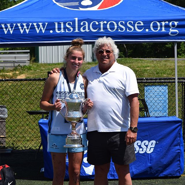 HLA Schoolgirl Lacrosse Award Recipient 2019 🏆 Fallon Vaughan