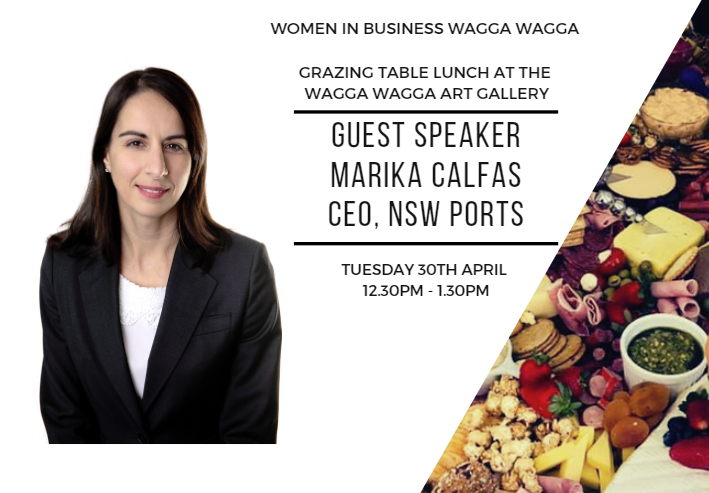 WiB Lunch with Marika Calfas - @ Wagga Art Gallery