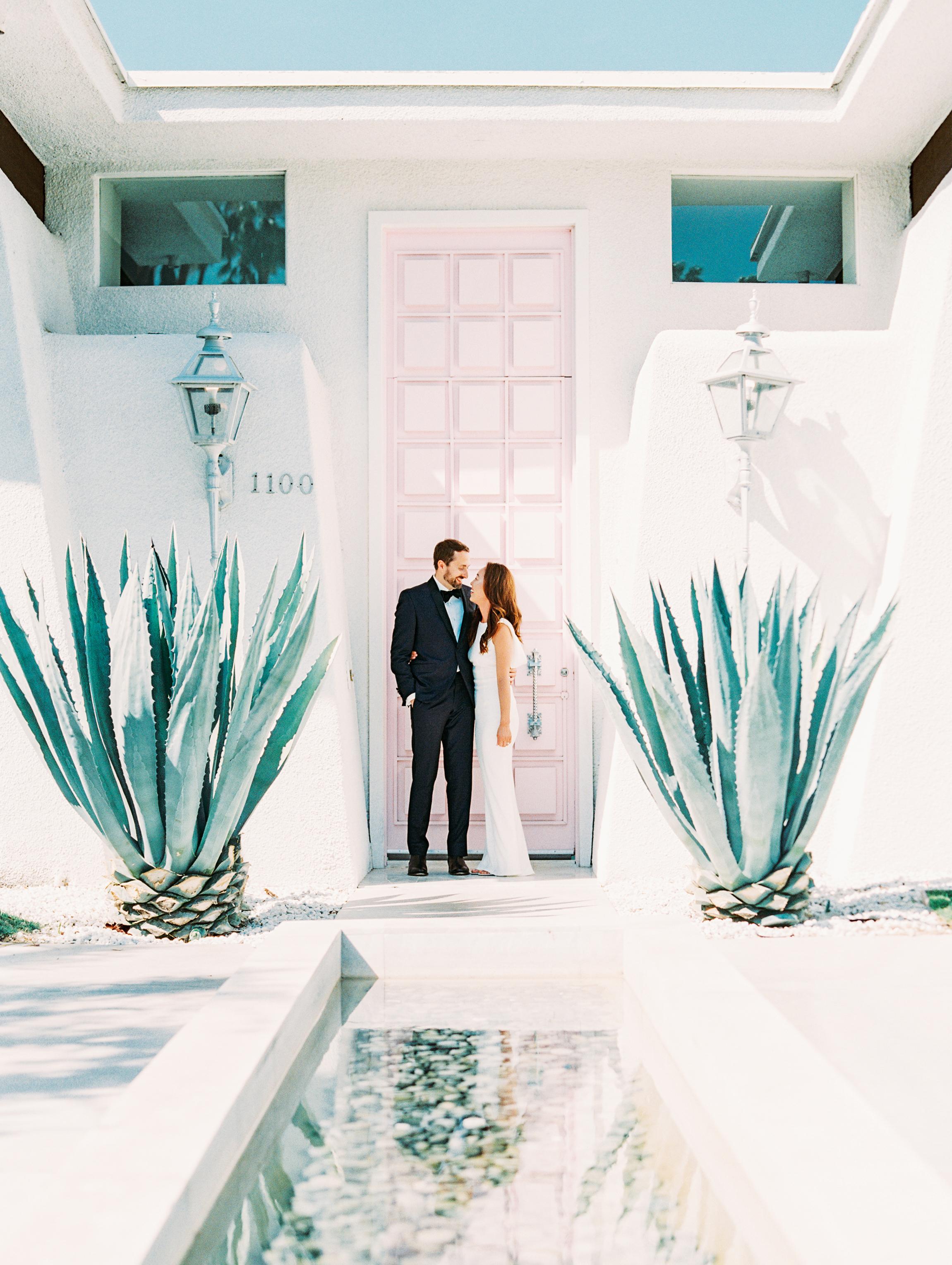 Jess + Scott: Palm Springs, CA