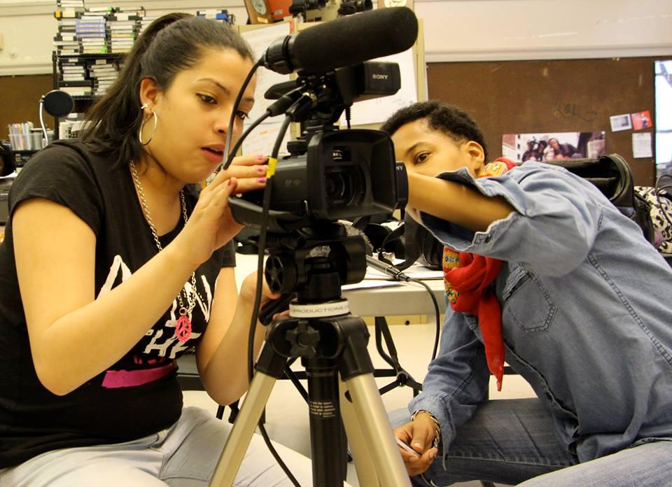 Teaching camera skills for Educational Video Center: New York, NY