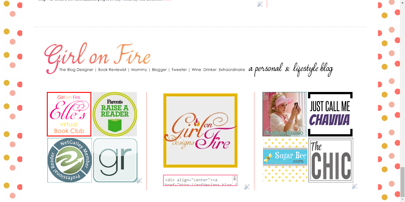 Utilizing Your Blogs Footer - Example 3