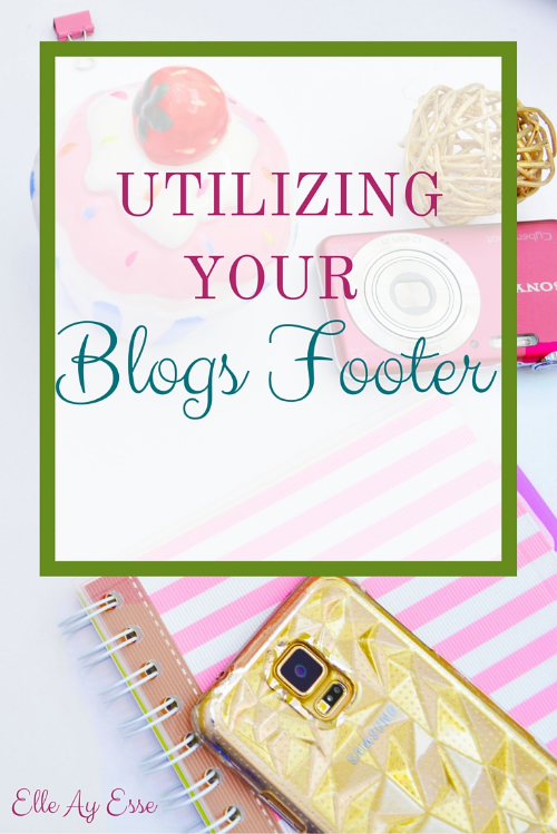 The Footer of a blog is one of the most commonly overlooked areas in blog design. Here's just a few ways you can use your imagination and create a seamless and polished blog layout in just a few steps.