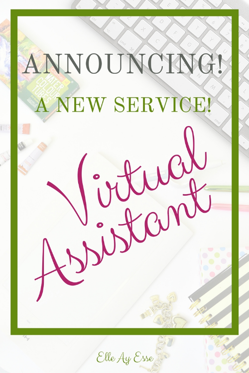 Not just a house of design anymore, I'm thrilled to announce that I will now be offering virtual assistant help! Whether it's writing copy, posting on social media or helping you keep your accounts organized (or anything else you can think of!), I'm here to help you be the best you that you can be!