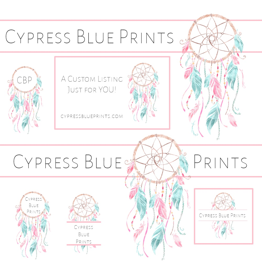 Candice runs Cypress Blue Prints, an Etsy shop catering to planner girls who like to decorate their planners. Candice specializes in Plum Paper planners in the horizontal layout and I have to admit that she makes me want to reconsider my own vertical design!