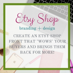 Are you an Etsy shop owner in need of fresh branding? Look no further! My complete Etsy design package includes everything you need to make sure your shop stands out and always looks it's best.