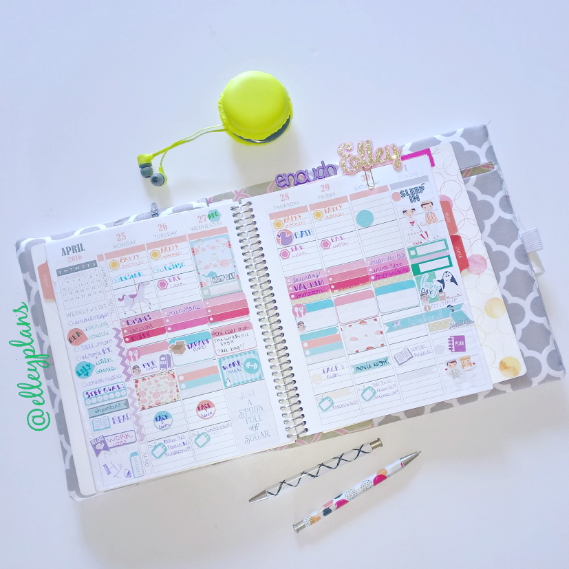 The wonderful people over at Plum Paper planners has