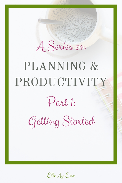"""Ahh, planning!   The planner community has considerably grown in recent years, and for good reason. Despite all the advances in technology, most people still need to write down their to do list, appointments and what not. It's not surprising, really, considering how ingrained """"writing it down"""" has become to many of us.   Today I want to talk a little about how I plan and stay productive. And the tools I use to do and stay so. At the end of this post I will have some pretty great goodies so stay tuned and enjoy!"""