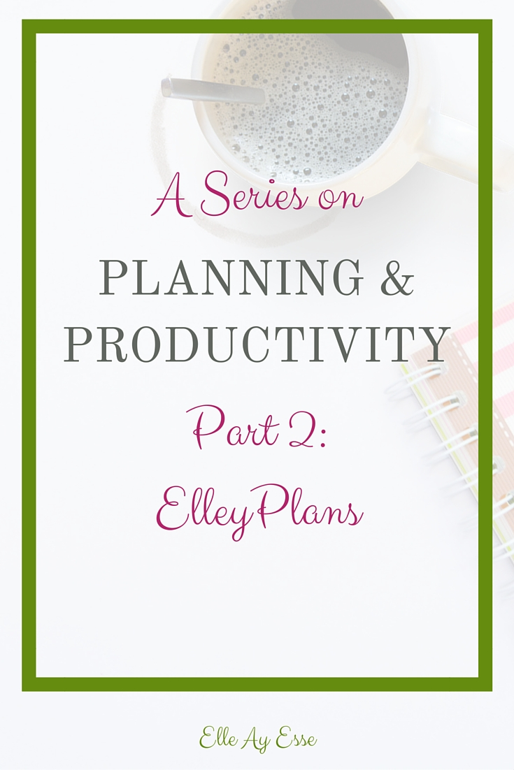 """ElleyPlans is my """"planner name"""" on Instagram. It's my handle for the planner community and it's how everyone recognizes my planners from anyone elses. I love being ElleyPlans because that's just who I am. I'm Elley and I plan."""