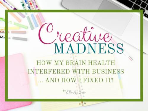 HOW MY BRAIN HEALTH  INTERFERED WITH BUSINESS ... AND HOW I FIXED IT!