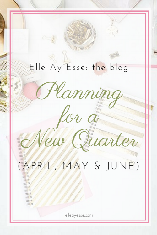 How far do you plan ahead? Weekly? Monthly? My post on quarterly planning will definitely help inspire you plan further ahead; without planning T O O far ahead! Come on by and find out how you can streamline your year with quarterly planning!