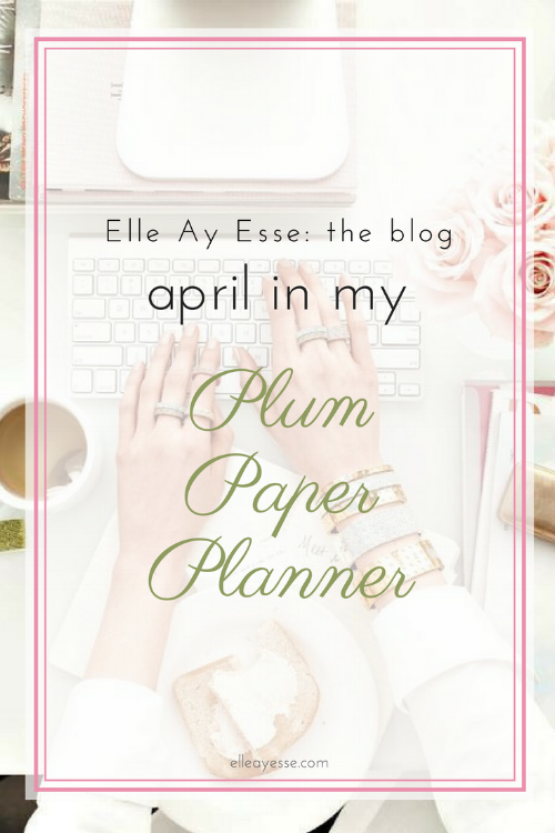 What kind of planner do you use? I have used a Plum Paper Planner for over 4 years now and it has changed everything about how I plan! In this post, I will give you a look inside my PPP and how I have set up the coming month of April | plum paper planner | april planning | hourly planner | planner