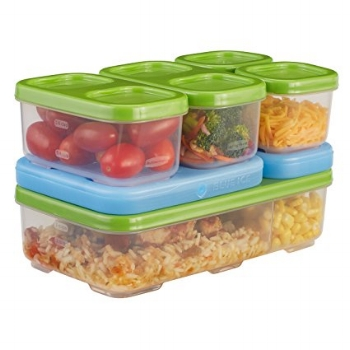Rubbermaid Lunch Blox Container Entrée Kit - How much do you eat during any given meal? This year I started decided to try out portion control and see what would happen. In this post, we begin my journey of controlling my portions and learning to eat right. Come on over and see exactly how I plan to get my portions under control!   meal planning   portion control   eating right  