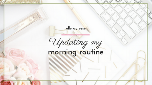 Do you have your mornings under control? I sure didn't! After a lot of analyzing, contemplating and deciding what was working and what wasn't, I was able to create a functional morning routine. Streamline your mornings by checking out my updated morning routine.