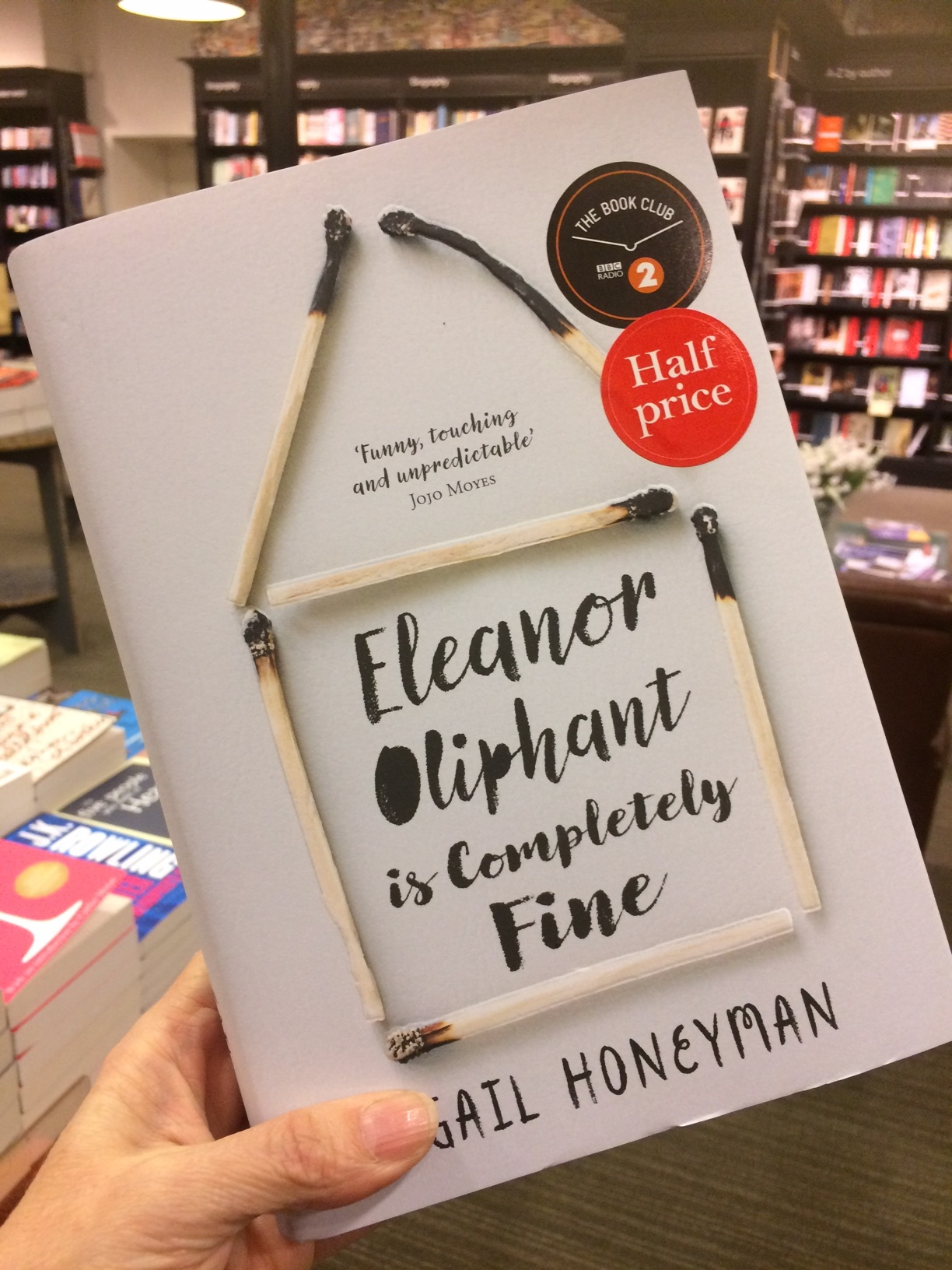 Eleanor Oliphant is Completely Fine on Elle Ay Esse Best of 2018
