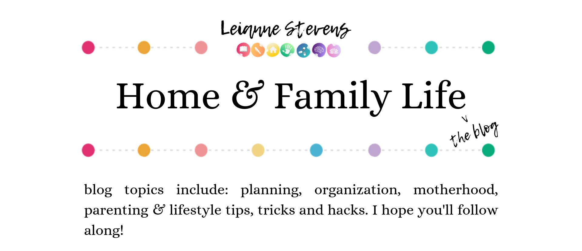 Home and Family Life the blog